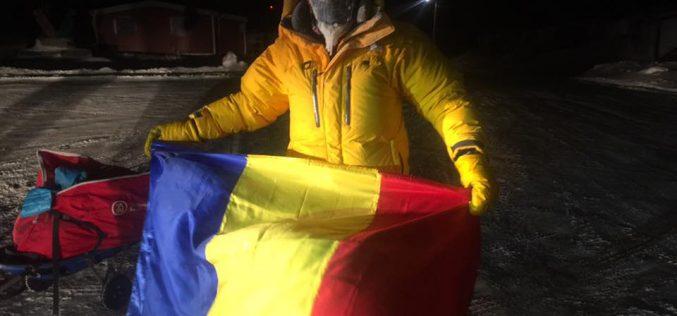 """Bistrițeanul Tibi Uşeriu a câştigat pentru al doilea an la rând """"6633 Arctic Ultra"""", cel mai greu maraton din lume"""