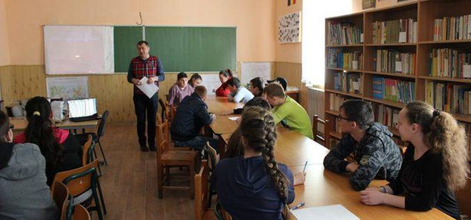 Concurs de limba română, la Școala Gimnazială Chiuiești – FOTO