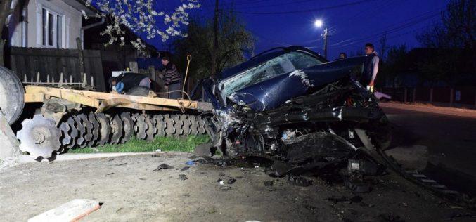 GRAV ACCIDENT la Mintiu Gherlii! Un șofer beat și-a băgat prietenul în spital – FOTO/VIDEO