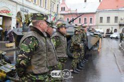 Ziua Forțelor Terestre, marcată astăzi la Dej – FOTO/VIDEO