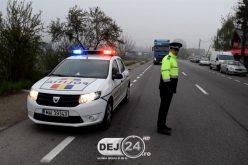 Bărbat din Iclod cu permisul de conducere anulat, depistat în trafic de polițiștii gherleni