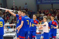 """""""Tricolorii"""" de la LAPI Dej, prima victorie la turneul final al Campionatelor Europene de volei din Slovacia – FOTO"""