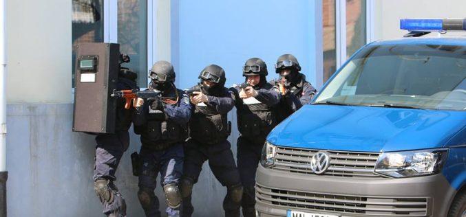 Exerciții demonstrative antitero la Dej și Gherla, în contextul aniversării Zilei Jandarmeriei Ardelene