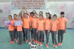 Trupă de dans din Dej, debut cu dreptul la un concurs național. A obținut o mențiune – FOTO