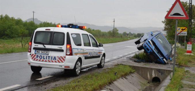 ACCIDENT la Coplean! O femeie din Bistrița a ajuns la spital – FOTO/VIDEO
