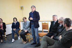"""Clubul de pictură """"Elena Szervaczius"""" a fost înfiinţat la Colegiul """"Andrei Mureşanu"""" din Dej – FOTO"""