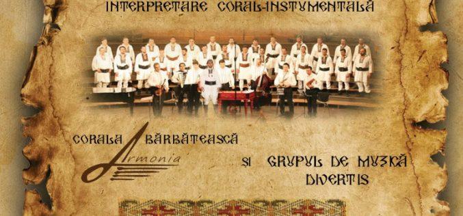 Corala Armonia revine la Dej! Concertul va avea loc în Sala Sporturilor