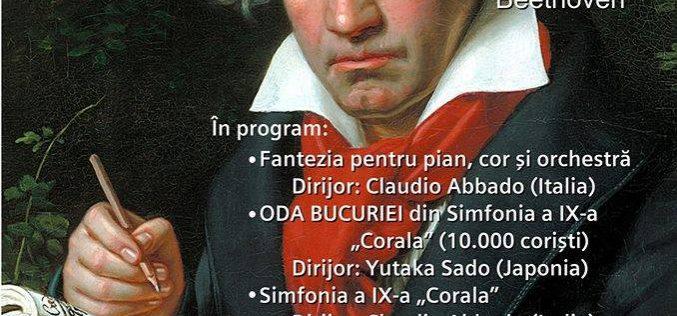 """PROIECȚII DVD concert simfonic """"ODA BUCURIEI"""" la SINAGOGA din DEJ!"""