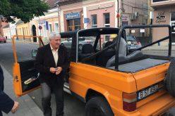 Europarlamentarul Mircea Diaconu a fost prezent ieri la Dej – FOTO