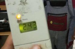 Alcoolemie record pentru un șofer din județul Cluj. Ce surpriza au mai avut polițiștii când l-au oprit