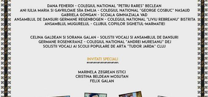"""""""Primăvara Folclorică Someșeană"""", la Colegiul Național """"Andrei Mureșanu"""" Dej. Vor fi prezenți artiști de renume!"""
