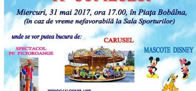 Spectacol de Ziua Internațională a Copilului, miercuri, la Dej