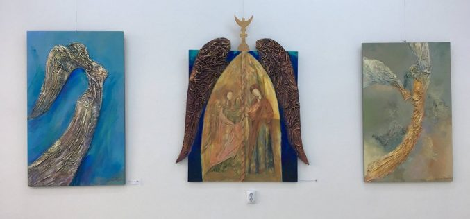 Vernisaj Ana Sabina Purcariu, azi, la Galeria de Artă a Muzeului Municipal Dej – FOTO