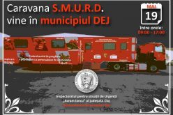 Caravana SMURD ajunge vineri și la Dej!