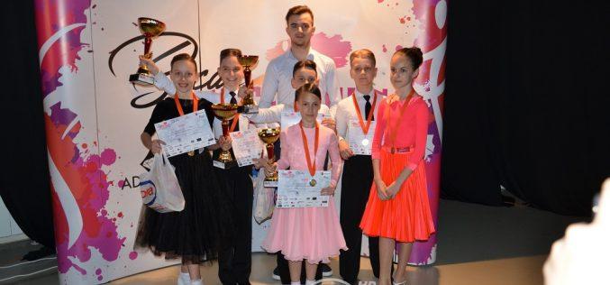 Rezultate foarte bune obținute de Latino Angels Dej la Bacău Dance Open – FOTO