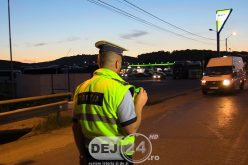 Șofer începător din județul Bistrița Năsăud, depistat în județul Cluj cu peste 130km/h în localitate