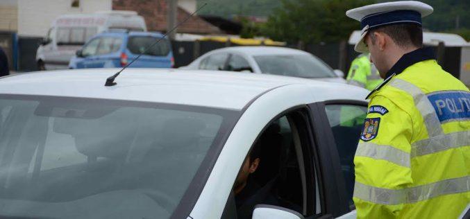 Acțiune a polițiștilor din Dej – două permise reținute, 28 de sancţiuni aplicate