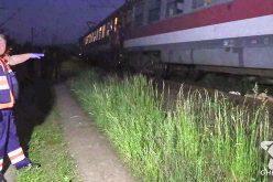 Sinucidere? Femeie lovită în plin de tren, la Gherla – VIDEO