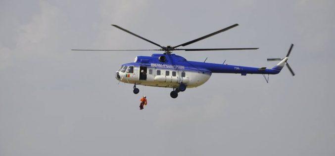 Unitatea Specială de Aviație Cluj-Napoca, antrenament în Munții Șureanu