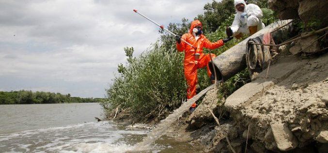 Deversări periculoase în râul Someș! A fost sesizată Garda de Mediu