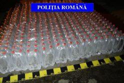 Polițiștii din Dej au confiscat 2000 de litri de alcool etilic – FOTO/VIDEO