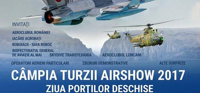 Show aviatic la Baza 71 Aeriană din Câmpia Turzii!