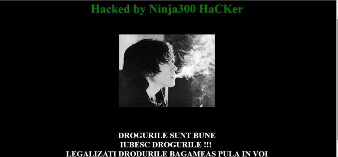 Site-ul Centrului de Informare Turistică Dej a fost spart de hackeri