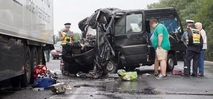 Persoane din județul Cluj, printre victimele teribilului accident petrecut ieri în Ungaria – VIDEO