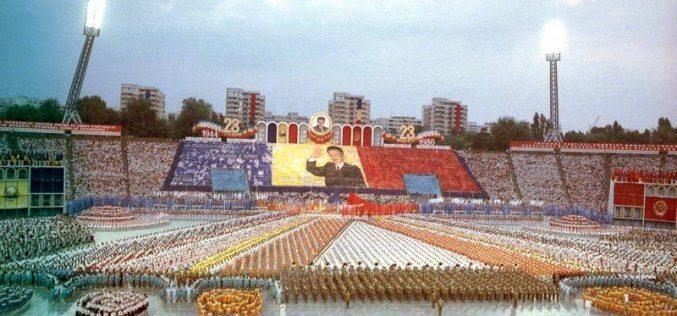 23 august, ziua în care toată țara defila sub atenta îndrumare a conducătorilor comuniști