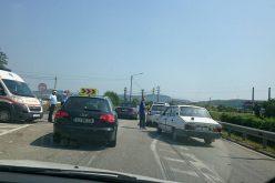 ACCIDENT pe DN1C, la Gherla! Două autoturisme au fost serios avariate – FOTO
