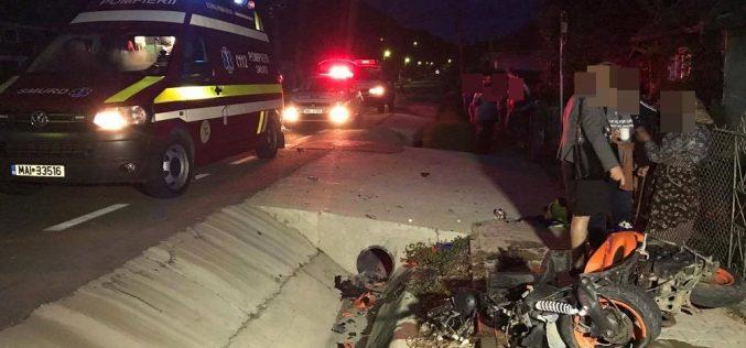 Mopedist RĂNIT și transportat la spital în urma unui accident în Viile Dejului – FOTO/VIDEO
