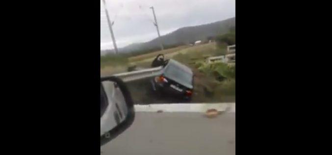 ACCIDENT între Livada și Iclod! Un tânăr a fost rănit ușor – FOTO