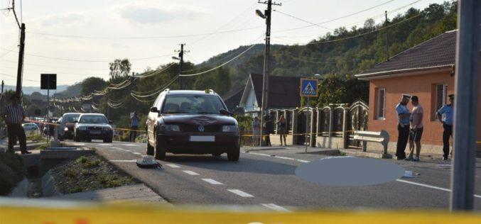Accident MORTAL în Dej. O femeie a sfârșit lovită de o mașină – FOTO/VIDEO