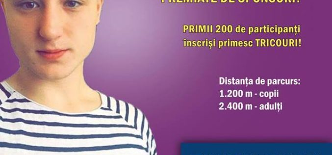 Crosul Toamnei ia startul la Dej! Banii strânși vor fi donați tânărului Mădălin Mureșan