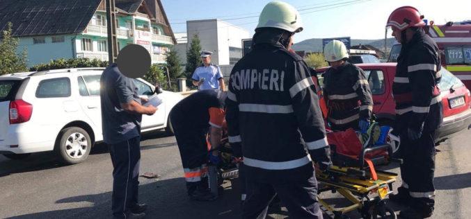 ACCIDENT cu TREI VICTIME în Dej, din cauza neacordării de prioritate – FOTO/VIDEO