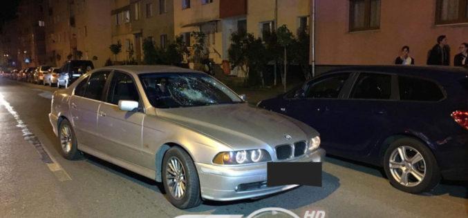 ACCIDENT pe strada Crângului din Dej. Un bărbat a fost dus la spital – FOTO/VIDEO