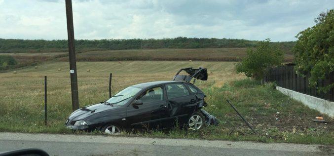 ACCIDENT între Dej și Cluj, pe DN1C – Trei persoane au fost rănite – FOTO