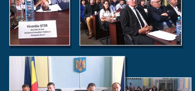 """Secretarul de Stat Vicențiu Știr: """"Cetățeanul trebuie să fie în mijlocul deciziei publice"""""""